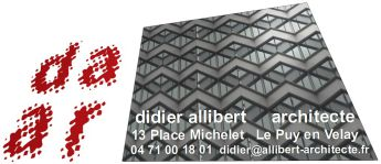contact architecte le puy en velay didier allibert. Black Bedroom Furniture Sets. Home Design Ideas